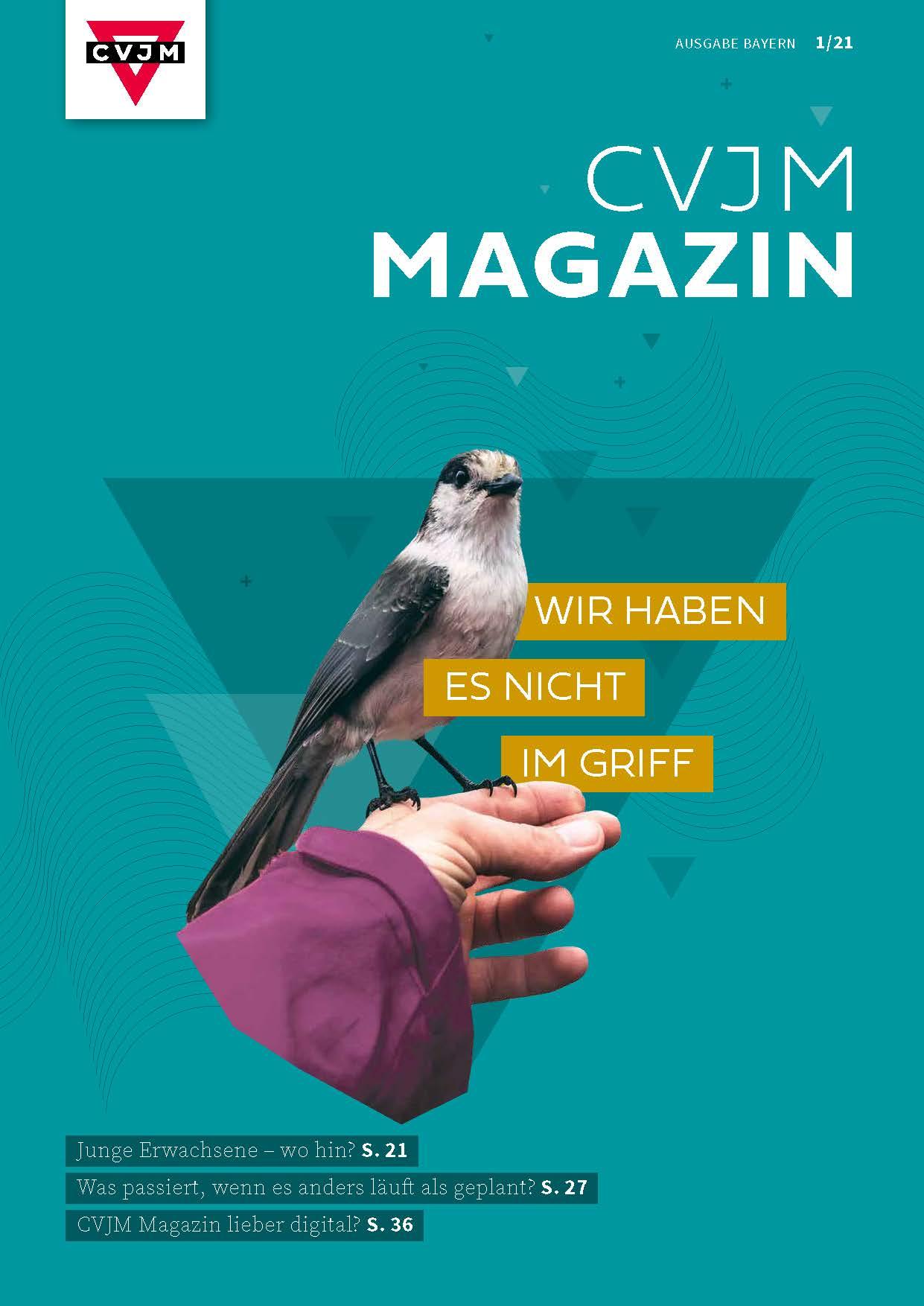 CVJM Magazin 1 21 Wir haben es nicht im Griff Bild